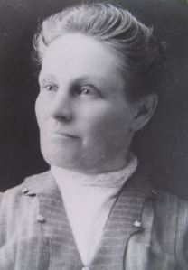 Abia Vaughan Wiren, first postmistress of New Sweden, Maine