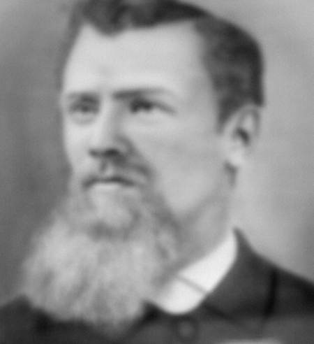 Rev. Andrew Wiren, first Lutheran pastor in New Sweden, Maine