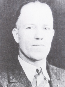 Clifford Anderson, second selectman 1938, New Sweden poultry farmer