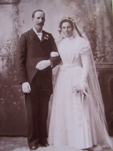 John N. (1866-1961) and Hannah P. Johnson