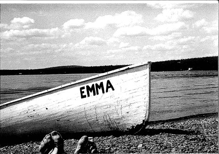 Madawaska Lake boat