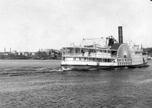 Steamer David Weston on the St. John River
