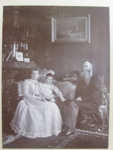 W. W. Thomas, Jr with wife and son